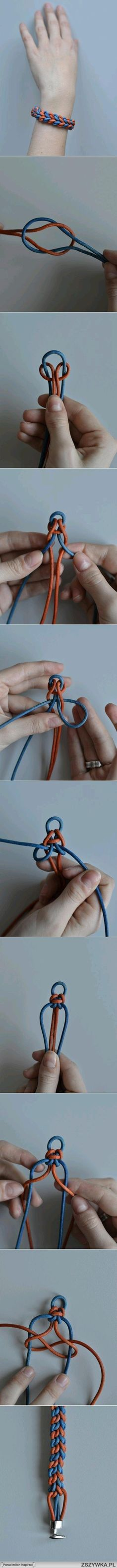 Diy braided bracelet tutorial