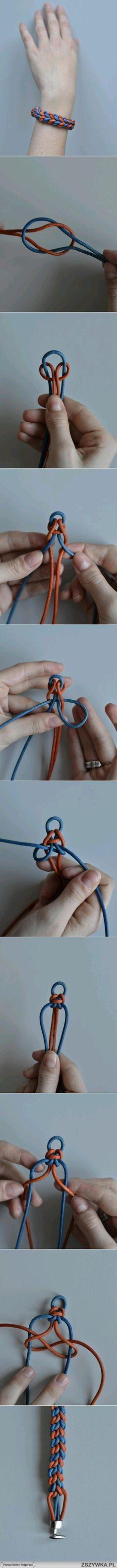 Diy braided bracelet tutorial