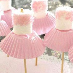 Hahaha! Ballerina marshmallows... Grief, the combination could be endless...