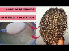 A MELHOR HIDRATAÇÃO CASEIRA PARA CABELOS CACHEADOS/CRESPOS/ LISOS - YouTube