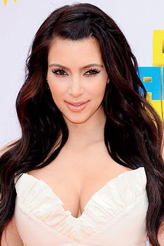 Best In Hue Chestnut: Kim Kardashian. So pretty.!