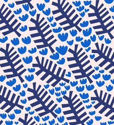 Spring / Plant inspired Pattern Downloads by surface pattern designer Jessica Nielsen. Inspired by nature and the design traditions of The Netherlands, Jessica's patterns would be perfect as a phone background, desktop background, gift wrap or any other tech device that needs a little spring makeover   Freebie
