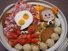 デコ鍋♡さるかに合戦の寄せ鍋|レシピブログ