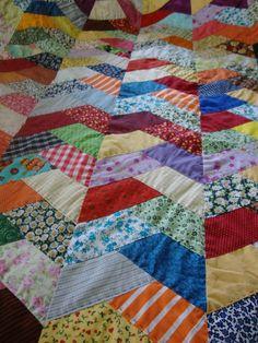 Studio da Berê: Colcha de patchwork