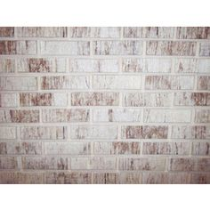 Whitewashed Faux Brick Wall  Lowes: Peel And Stick Z Brick Smooth Americana  Liberty Gray Brick Veneer    Accent Wall