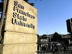 One of my dream colleges is San Francisco state University. The reason being is my dad attended there and graduated with a masters degree, and is part of the omega psi phi fraternity on that campus. San Francisco State University, My Future Career, New President, Alma Mater, Continuing Education, Live In The Now, School Fun, College Life, College Students