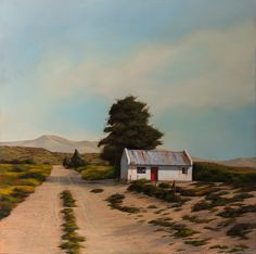 ORIGINAL OIL ON CANVAS: 120cm x 120cm Available at Manzart Contemporary, Franschhoek PRINTS ON PAPER; Edition sizes 30cm x 30cm 60cm x 60cm PRINTS ON CANVAS; Edition sizes 80cm x 80cm Provinces Of South Africa, Landscape Paintings, Landscapes, Print Artist, Art Studios, Small Towns, Urban Decay, Art History, Oil On Canvas
