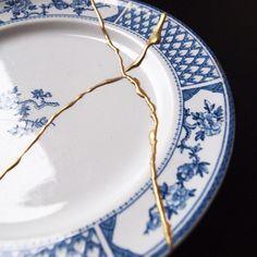 Great Screen japanese Ceramics gold Ideas Fantastic Photographs japanese Ceramics ancient Tips DIY Kintsugi Kit – Mora Approved Kintsugi, Japanese Ceramics, Japanese Pottery, Ceramic Plates, Ceramic Pottery, Ceramic Art, Slab Pottery, Japanese Gold Repair, Kit