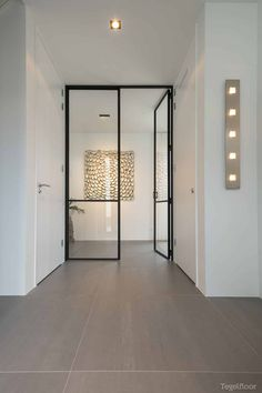 Interior Door, Home Interior Design, Interior Architecture, Interior And Exterior, Steel Frame Doors, Aluminium Doors, Boutique Homes, Cuisines Design, Furniture Styles