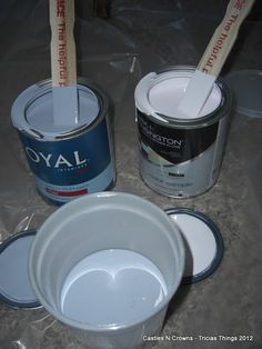 Baking Soda Chalk Paint and Soft Wax Recipe an alternative for Anne Sloan Chalk Paint & Wax