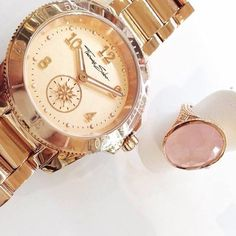 Thomas Sabo, Gold Watch, Feminine, Rose Gold, Sterling Silver, Elegant, Instagram Posts, Accessories, Collection