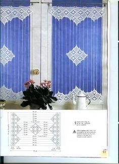 re pin interesujące rozwiązanie - do zrobienia rideau, crochet, phildar, coton, editions, saxe, art, crochet,bellilois,