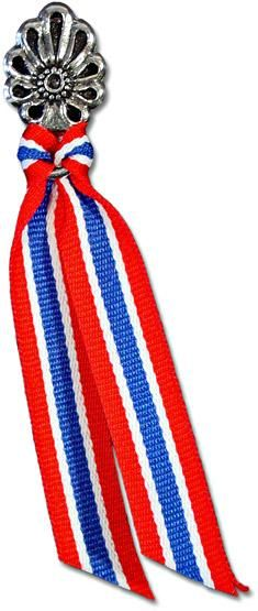 Syttende Mai Ribbon Pin