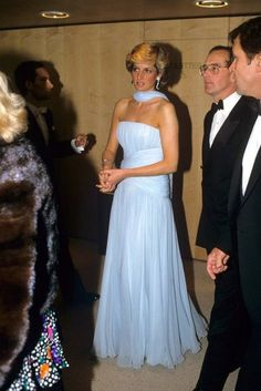 HRH Princess Diana of Wales in 1987 at the Cannes Film Festival