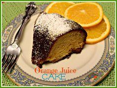 Sweet Tea and Cornbread: Orange Juice Cake!