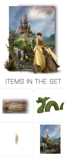 """The Fairy Tale Begins"" by auntiehelen ❤ liked on Polyvore featuring art"