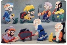 Garden Gnomes No. 2 Intarsia Woodworking Plans