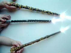 A really magic Harry Potter wand for Lumos and Reveal Your Secrets charms