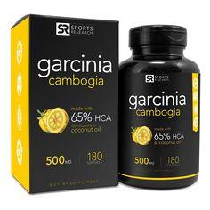 Pure Garcinia Cambogia Extract with 65% HCA
