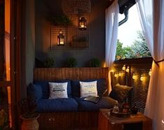 Balkon nocą - zdjęcie od Patrycja Matusiak