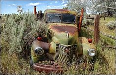 Rusty and left by side of the road Rusted Trucks, Rusty Cars, Barn Finds, Truck, Classic Trucks, Abandoned Cars Trucks Farm, Cars Trucks Farm Machinery, ...