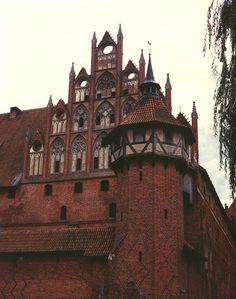 the Teutonic order castle, Malbork