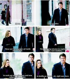 #Castle and the final frontier