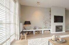 Marleen Home Living Room, Home, Home Fireplace, Interior Design Living Room Modern, Bedroom Interior, Home Deco, Alcove Seating, Home Interior Design, Home And Living