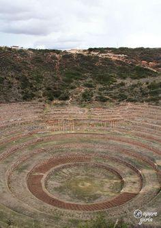 Tour Círculos em Moray próximo a Cusco no Peru