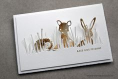 ... sich wohl verstehen?       Zutaten:   Die Fuchs   Die Hase   Die Igel   Die Grassland Border   Die Stanzen Fuchs & Co. gibt es auch a...
