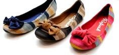 Refresh flats: Cute, elegant and with beautiful colours! I bought the red one and it is quite comfortable! :)