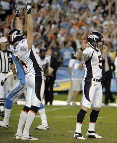 Photos: Broncos Kicker Matt Prater