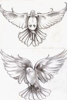 My dove tattoo