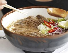 Wagamama offers a selection of gluten free options, including flavorful noodle soups and fresh juices.