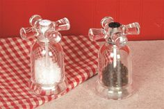 Lehman's - Faucet Salt and Pepper Mills ~ Just too cute