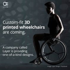 Custom-Fit Printed Wheelchairs to Revolutionize Industry Fitness Brand, Mens Fitness, Fitness Tips, Fitness Motivation, Health Fitness, Fitness Activity Tracker, Fitness Tracker, Motivation Youtube, Discovery Channel Shows