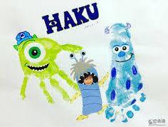 「足型アート」の画像検索結果 Daycare Crafts, Baby Crafts, Toddler Crafts, Baby Footprint Art, Footprint Crafts, Painting For Kids, Art For Kids, Disney Crafts For Kids, Fingerprint Art