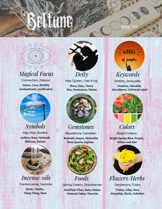Free class and 3 page pdf for Beltane Wiccan Sabbats, Solar System Crafts, Green Witchcraft, Baby Witch, Season Of The Witch, Beltane, Book Of Shadows, Animal Tattoos, Deities