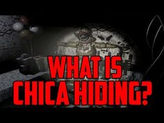 Five Nights at Freddy's 2: What Is Chica Hiding? - YouTube