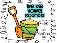 This literacy center is a fun way for your little ones to practice differentiating between long and short vowel sounds. 20 picture cards, 2 sorting...