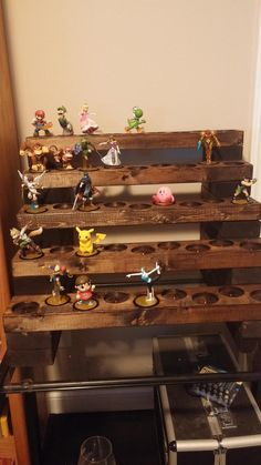 my new amiibo display is waiting for those wave 3s to come home!