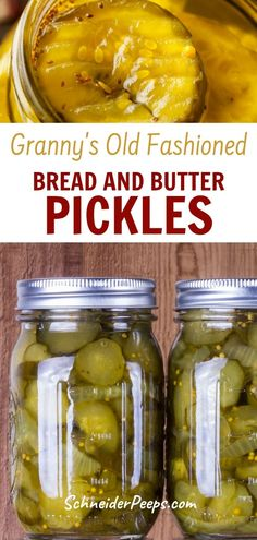 It's hard to find good bread and butter pickles like grandma used to make. Fortunately, I have my Granny's recipe to share with you. With just the right amount of sweetness and tanginess these will quickly become your favorite homemade pickles. These pickles are great on sandwiches, relish trays or chopped up and used like relish for chicken, tuna, or egg salad. Learn how to easily preserve the harvest with this step by step guide.#preservingvegetables #preservingfood #Fromscratch… Bread N Butter Pickle Recipe, Bread & Butter Pickles, Healthy Foods To Eat, Healthy Eating, Healthy Recipes, Granny's Recipe, Relish Trays, Homemade Pickles, Grow Your Own Food