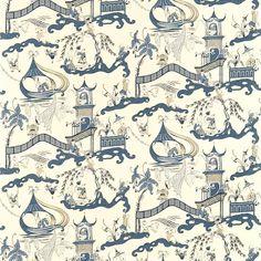 Fabric: Pagoda River DVIPPA202
