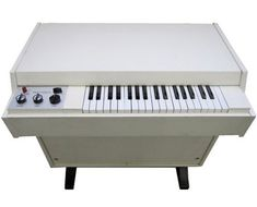 MELLOTRON (1963) one of the most influential keyboards of all time. While temperamental and fragile, it shaped the sound of more top hits in the 1960's and 1970's than any other keyboard save maybe the Hammond B3 Organ. Nearly every song with haunting choir vocals was actually a Mellotron.