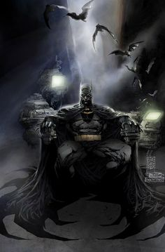 Batman is never alone. The comfort of his fear will always dwell with him.