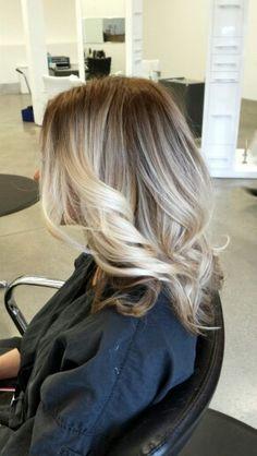 Blonde color melt #AshStylz