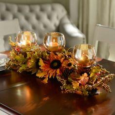 Flower Box Centerpiece, Wooden Box Centerpiece, Fall Table Centerpieces, Thanksgiving Centerpieces, Centerpiece Decorations, Fall Lanterns, Fall Fireplace, Fall Arrangements, Thanksgiving Table Settings
