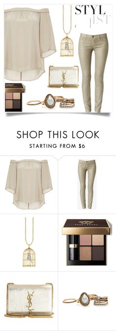 """""""Stylist"""" by im-karla-with-a-k ❤ liked on Polyvore featuring DailyLook, Bobbi Brown Cosmetics, Yves Saint Laurent and imthankfulfor"""