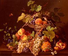 Натюрморты с виноградом и фруктами. Обсуждение на LiveInternet - Российский Сервис Онлайн-Дневников