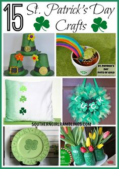Looking for a fun St. Patrick's Day craft idea? Here are 15 ideas to get your creativity in the mood for the holiday!